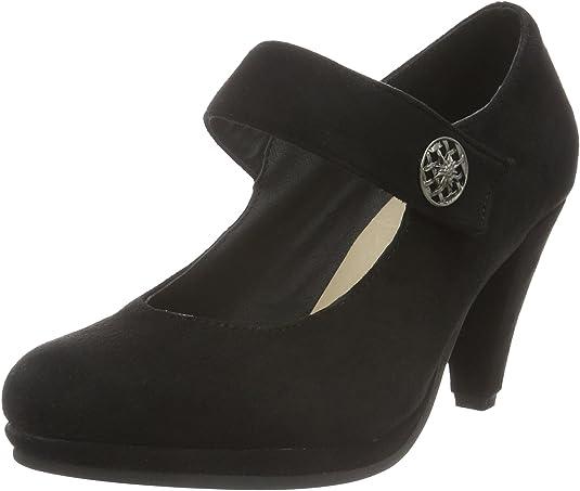 TALLA 37 EU. Andrea Conti 3591515, Zapatos de tacón con Punta Cerrada para Mujer