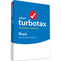 TurboTax Basic 2018 Tax Software [PC/Mac Disc]