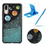 Blue Glitter Case for Huawei P20