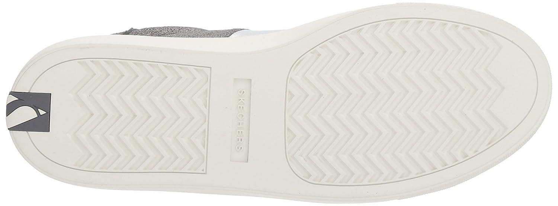 Skechers Women's Side Street-Banded Sneaker B071K1766F 9 M US Charcoal