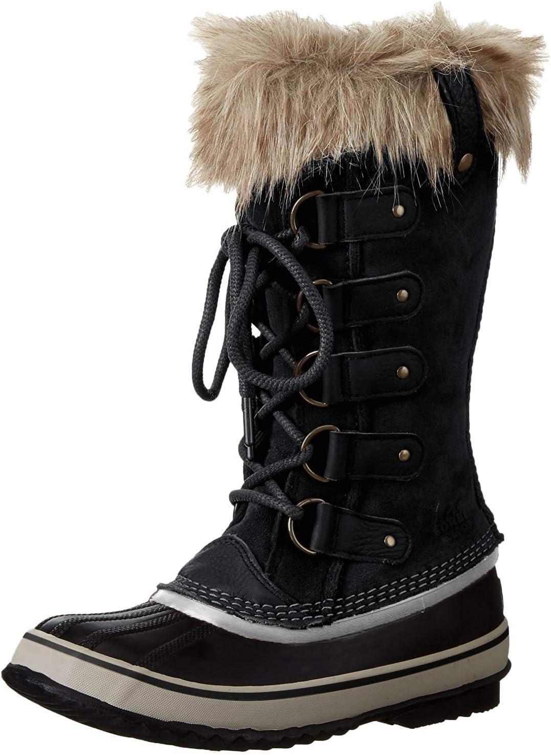 Sorel Joan Of Arctic II voor dames Sneeuwlaarzen zwart zwart steen 010