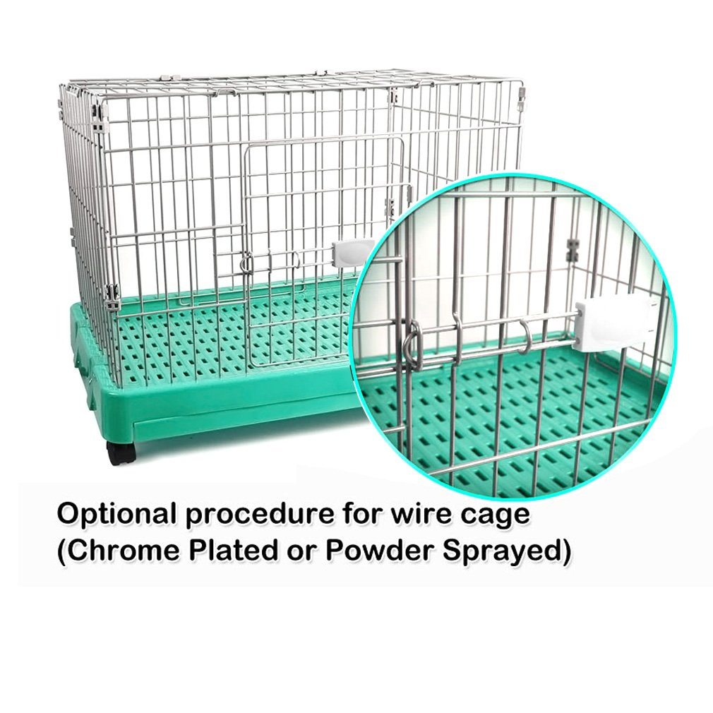 Kinlo® Wire Cage with 4 Wheels: Amazon.co.uk: Pet Supplies