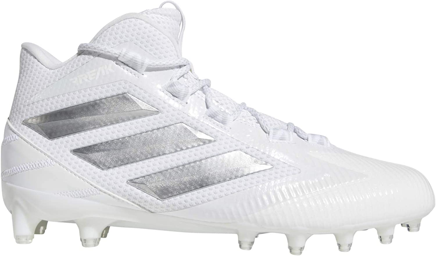 adidas Freak Carbon Mid White/Silver Football Shoes (EE7133)