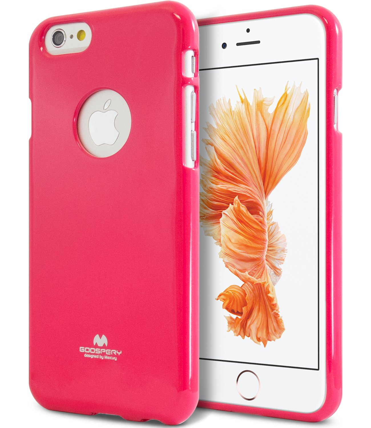100% authentic 145ac 7e7a7 iPhone 6 Case, iPhone 6s Case, [Thin Slim] GOOSPERY [Flexible] Color Pearl  Jelly Rubber TPU Case [Lightweight] Bumper Cover for Apple iPhone 6s/6 (HOT  ...