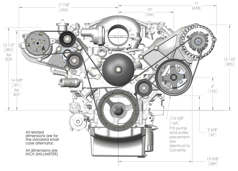 Holley 20-132 LS Accessory Drive Bracket Kit