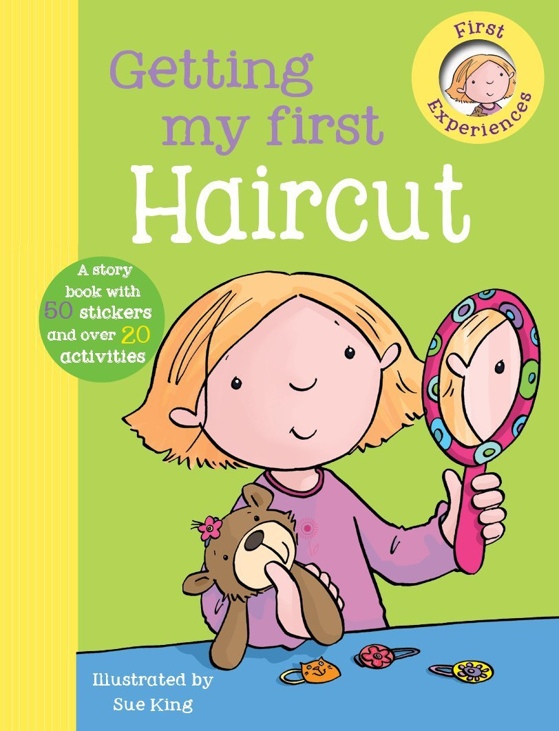 Getting My First Haircut First Experience Sticker Storybook