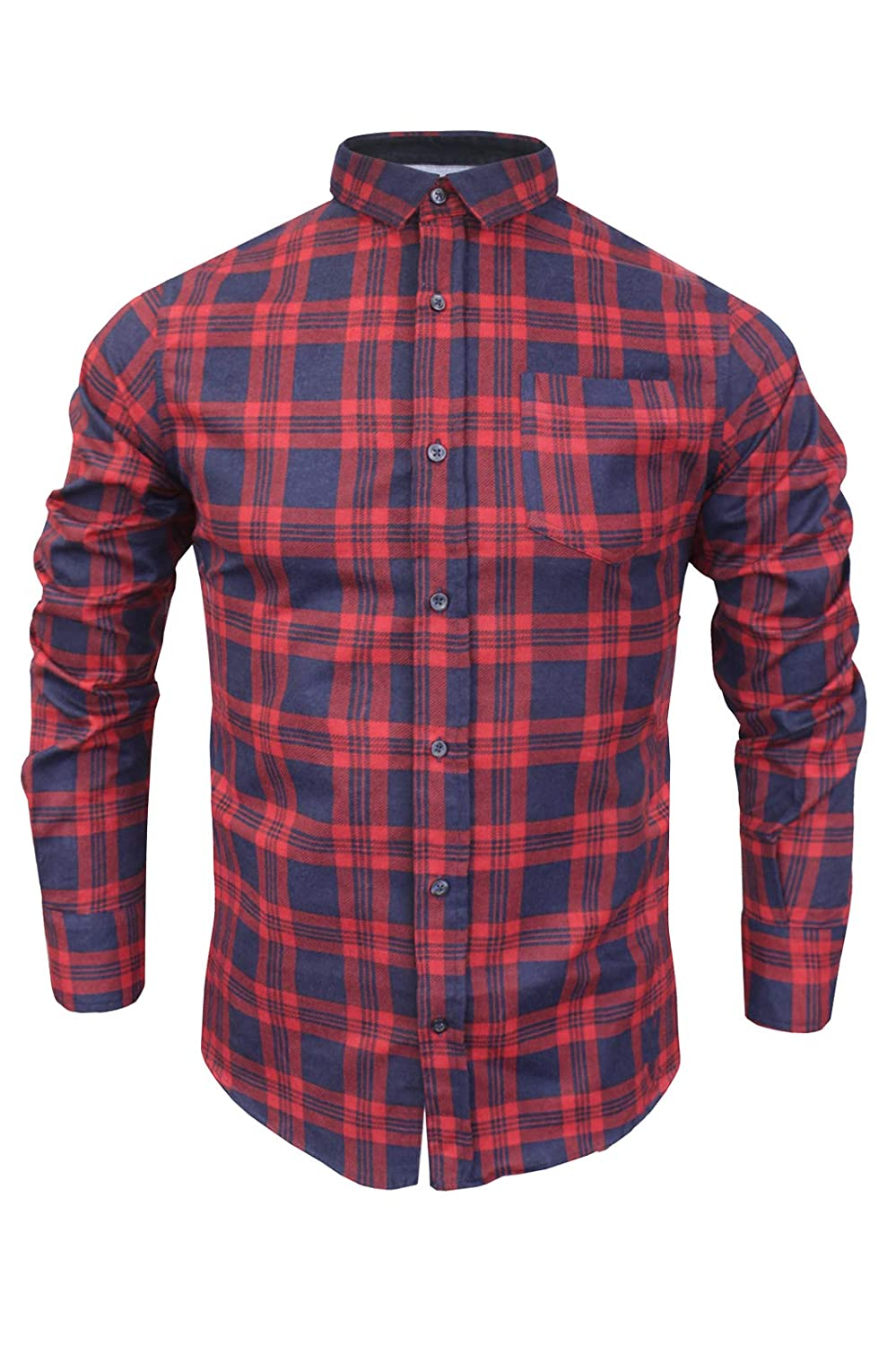 Brave Soul Mens Slater Cotton Shirt