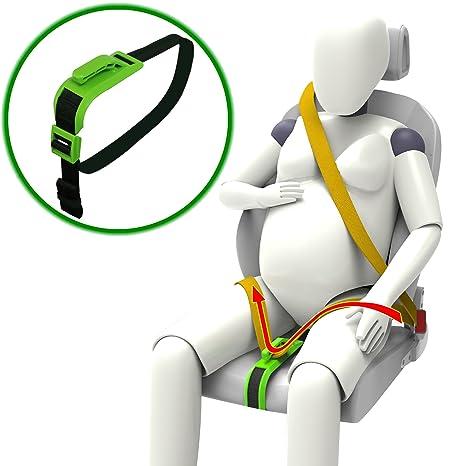 inturón de Seguridad, de maternidad cinturón ajustable para Embarazadas, Comodidad y Seguridad para Futuras