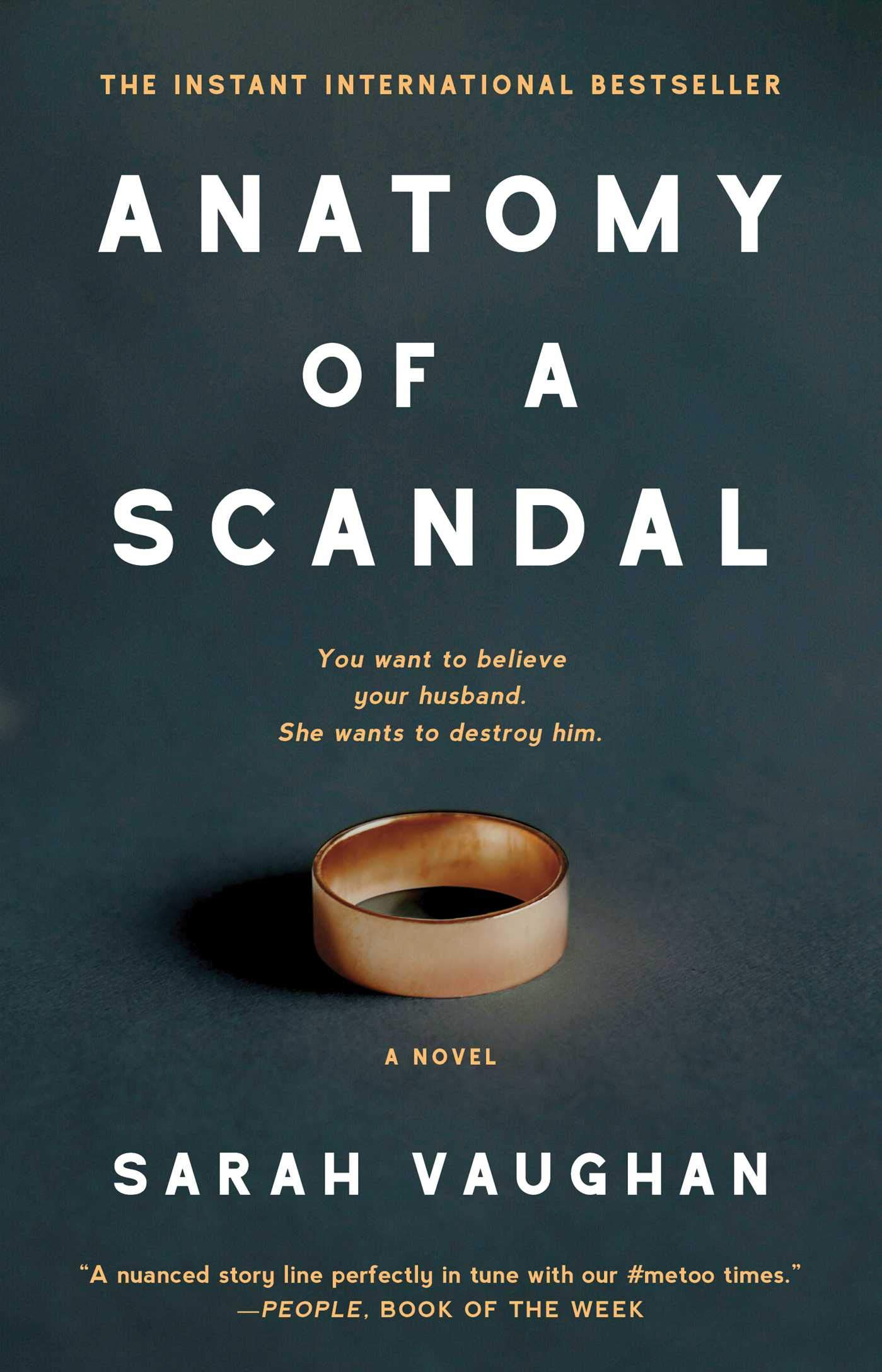 Anatomy of a Scandal: Amazon.co.uk: Sarah Vaughan: 9781501172175: Books