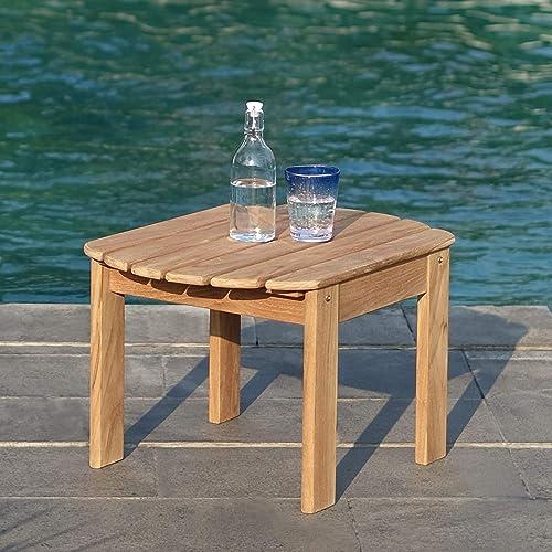 Cambridge Casual Solid Teak Wood Arie Adirondack Side Table