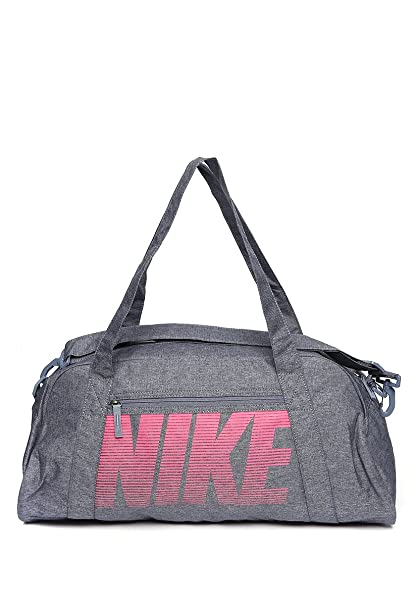 823a2cb3d3 Nike Women s Grey Polyester Gym Club Training Duffel Bag (Ba5490-455)   Amazon.in  Bags