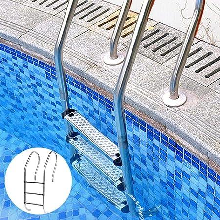 Golden.Y Escalera De Piscina Pedal Antideslizante para Paredes De Piscina Escalera De Recambio De Escalera De Recambio De Pedal De Acero Inoxidable 304-50 7.5 2.5cm Eco - Friendly: Amazon.es: Hogar