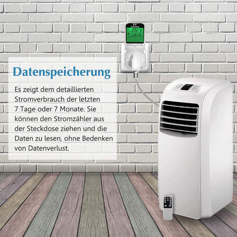 Nashone - Medidor de energía, contador de consumo de energía ...