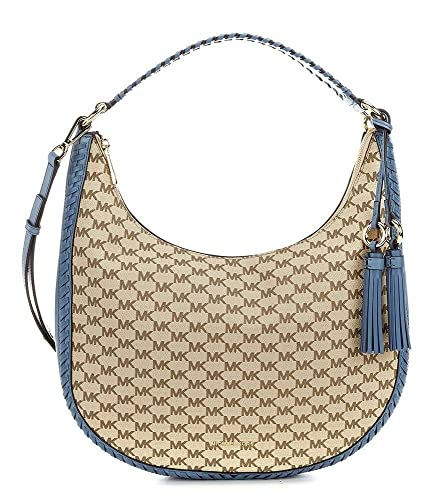 9fe91df8ef07 MICHAEL Michael Kors Signature Lauryn Large Shoulder Bag  Handbags   Amazon.com
