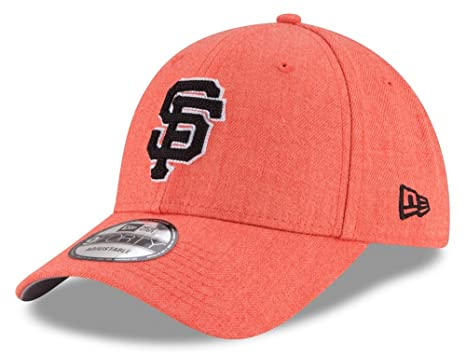 finest selection 68af7 cf67b Image Unavailable. Image not available for. Color  San Francisco Giants New  Era 9Forty MLB  quot Heather Crisp quot  Adjustable Hat