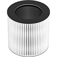 AwesomeWare Desktop Air Purifier for Smallroom with Ionizer & Triple True HEPA Filter Desktop Air Cleaner