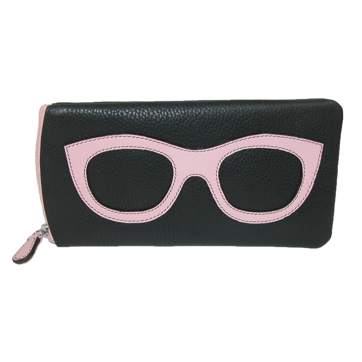 ili New York 6462 Leather Eyeglass Case