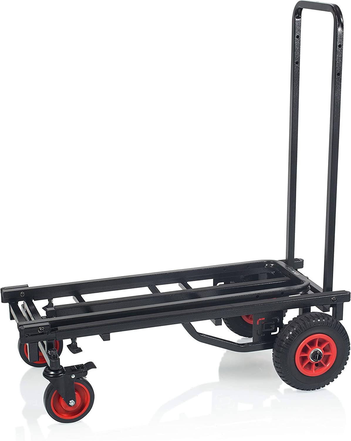 Amazon Com Gator Frameworks Folding Multi Utility Cart With 30 52 Extension 500 Lbs Load Capacity Gfw Utl Cart52 Musical Instruments