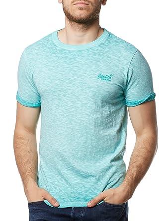 online retailer a53f8 82fd4 Superdry Herren Orange Label Low Roller Tee T-Shirt
