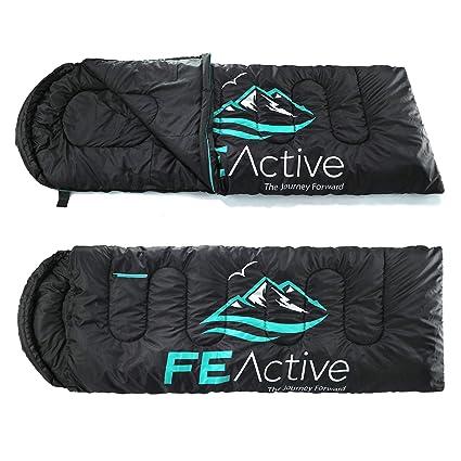 Amazon.com: Fe Active – Saco de dormir con capucha, extra ...