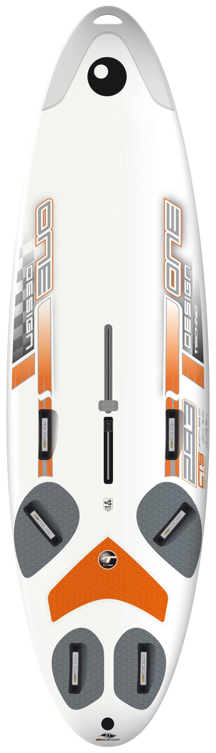 BIC Sport Techno 293 One Design DTT One Design Sailboard (White, 293x79-cmx12.5-kg)