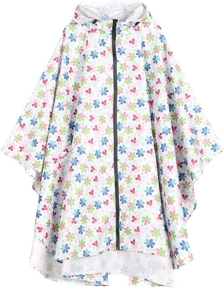 SHUHANX Vestes Coupe Pluie Randonnée Imperméable Mode Dames Manteau De Pluie Respirant Dames Longs Imperméables Portable Imperméable Vêtements De Pluie Femmes 2