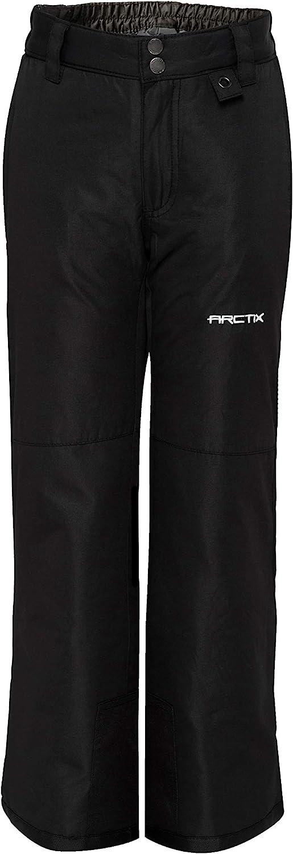 Black Medium Regular Arctix Youth Snow Pants