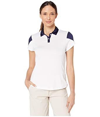 Callaway Performance Tulip Sleeve with Contrast Polo Shirt ...
