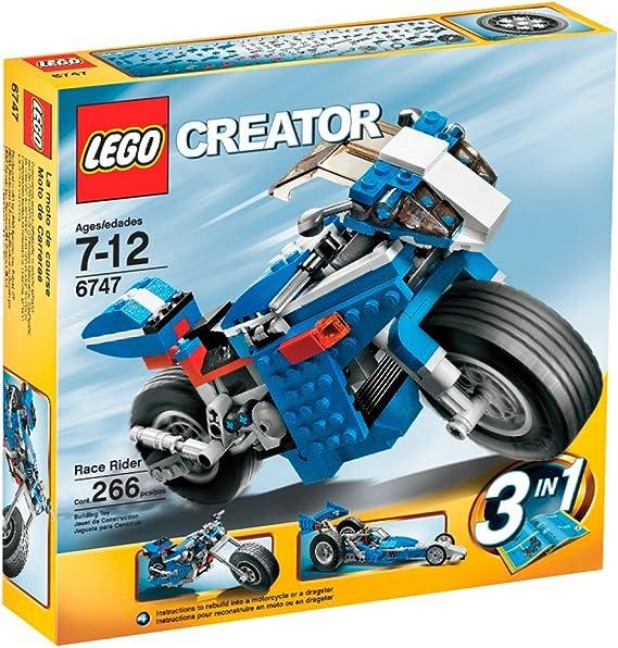 LEGO Creator Race Rider: Amazon.es: Juguetes y juegos