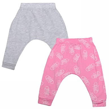 70cf19c693dc Converse Baby Girls 2 Pack Hanging Jogger Set in Pink- 2 Pairs of Leggings-  One  Converse  Amazon.co.uk  Clothing