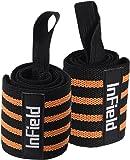 (InField) リストラップ ウエイトトレーニング 手首 固定 サポーター ウェイトトレーニング 2枚組