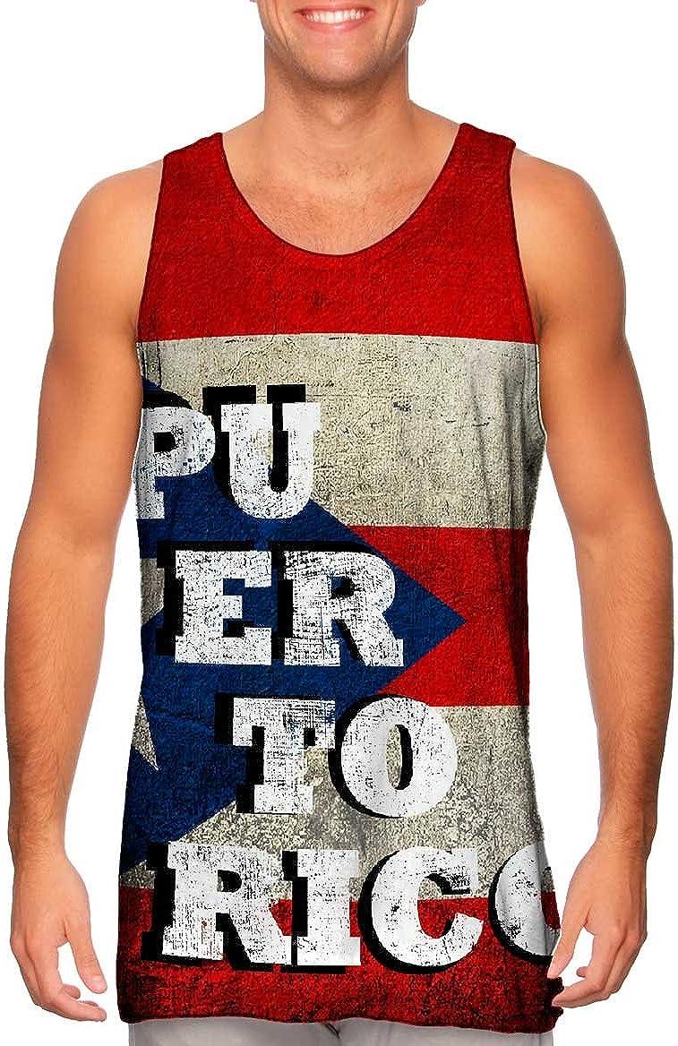 Yizzam-- Dirty Puerto Rico -Tshirt- Mens Tank Top