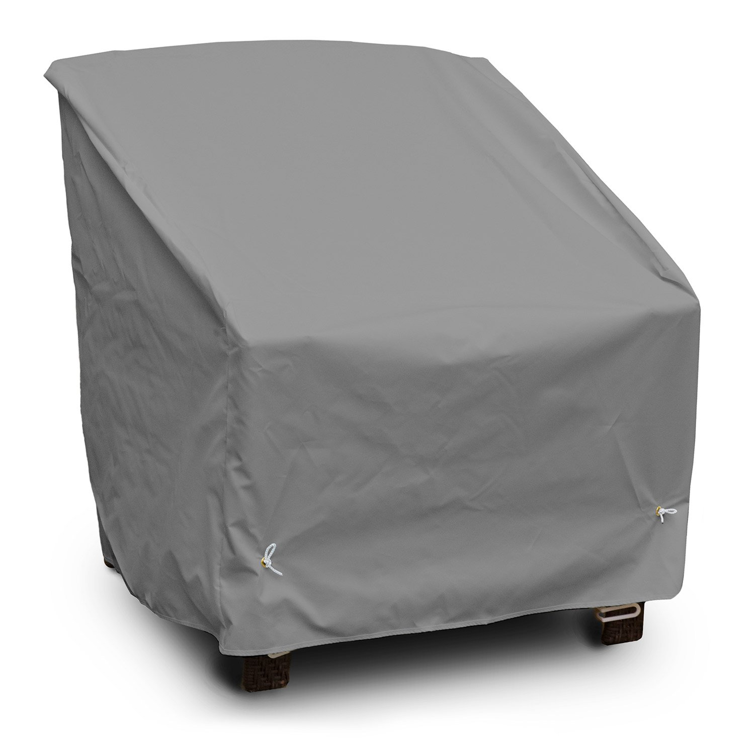 KoverRoos Weathermax 89302 Deep Seating Super Lounge Chair Cover, 43-Inch Width by 40-Inch Diameter by 31-Inch Height, Charcoal