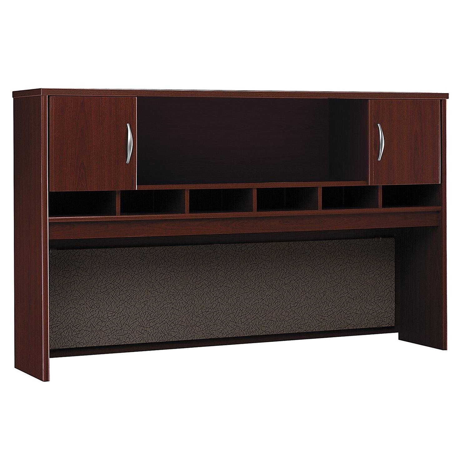 Bush Business Furniture Series C 72W 2 Door Hutch in Mahogany