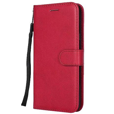 DENDICO Funda LG X Power 3, Flip Libro Cuero Carcasa, Diseño ...