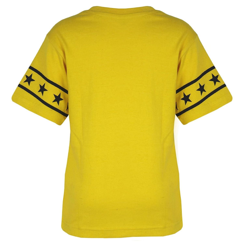 A2Z 4 Kids/® Kids Boys Girls T Shirt Short Set Designers Yellow 100/% Cotton NY New York Print T-Shirt Top /& Shorts Set Age 5 6 7 8 9 10 11 12 13 Years