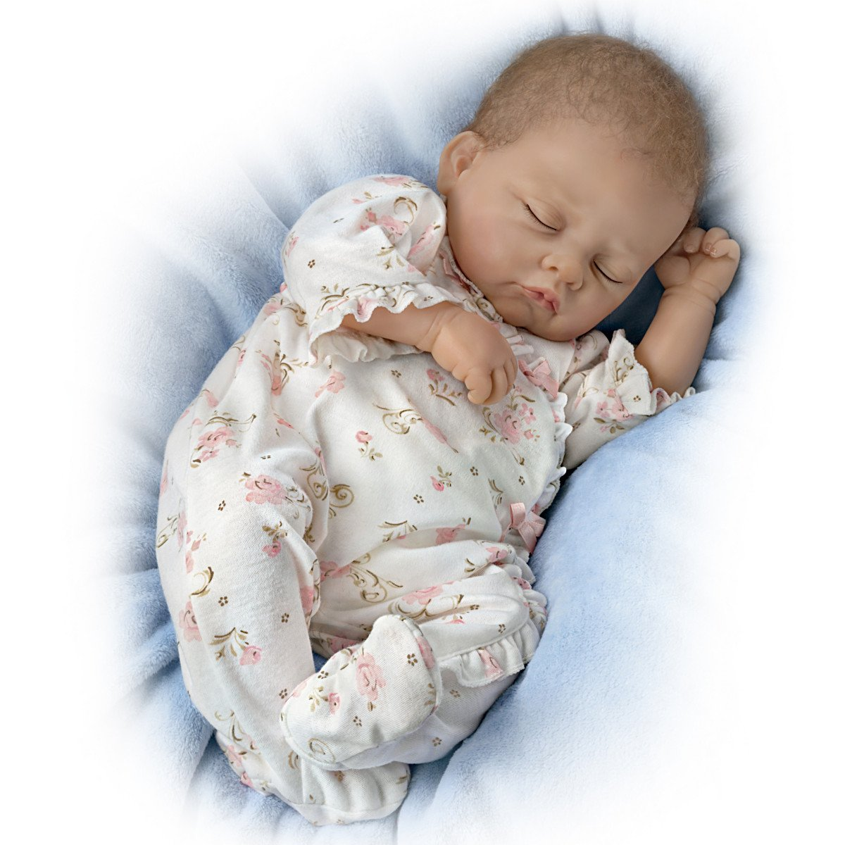 Ashton Drake Sophia Breathes Interactive & Realistic Newborn Baby Doll