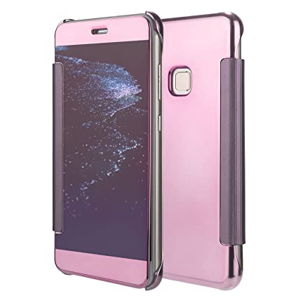 coque huawei p10 rose or