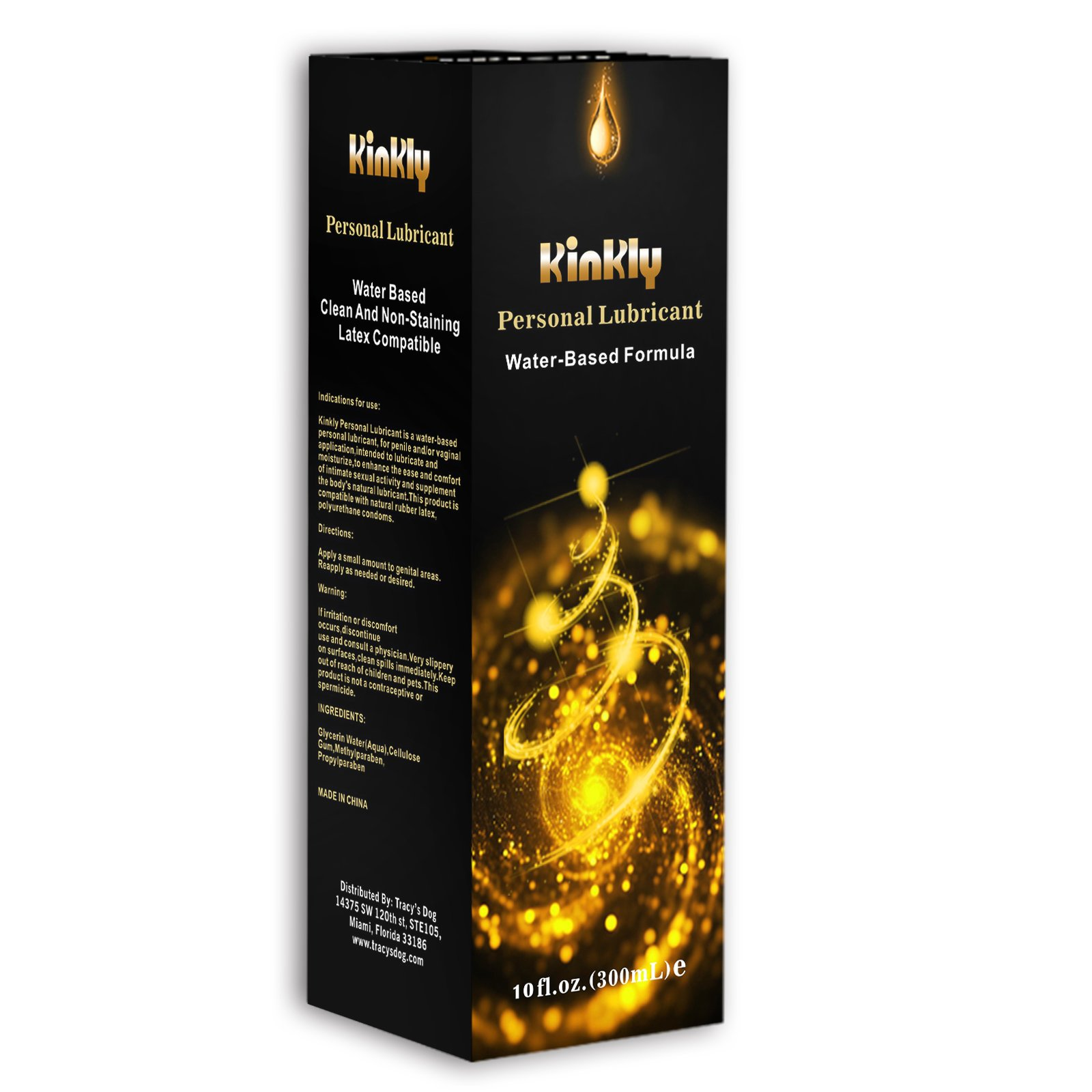 Kinkly Intimate Lubrificante Gel a Base d\'Acqua - 300 ml