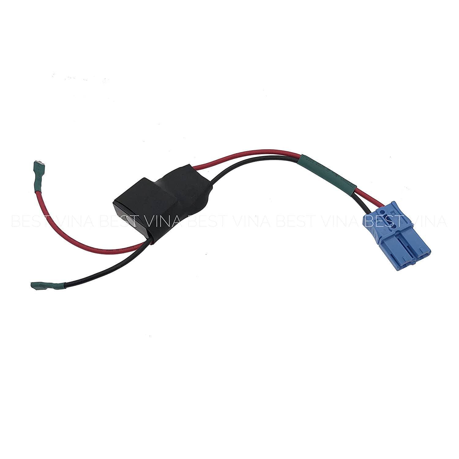 Amazon.com: Battery Connector Wire Harness with Fuse for Kids Trax, Kids  Ride On Car Replacement Parts: Toys & Games