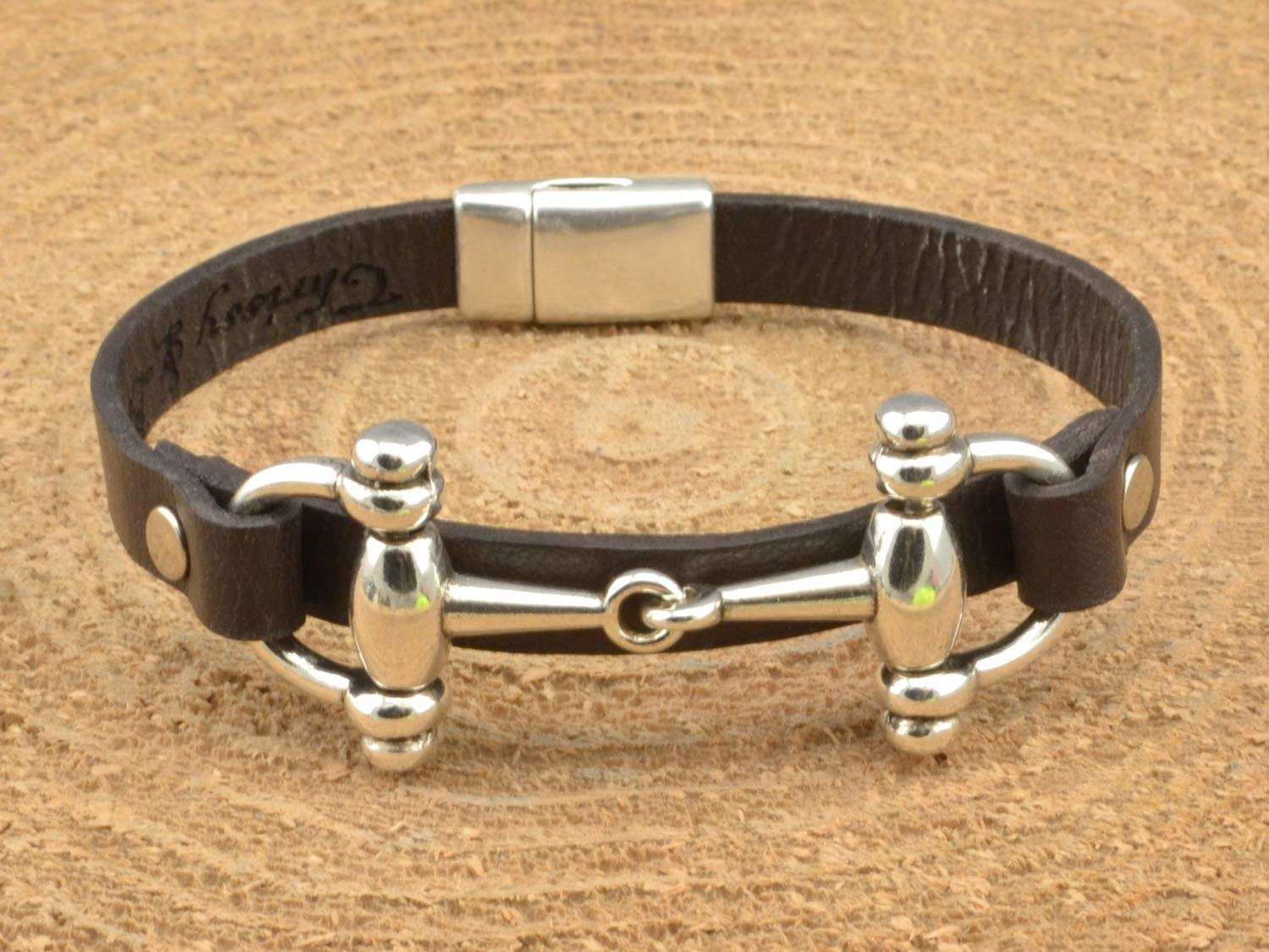 equestrian jewelry horse rider gift snaffle bit bracelet horseman horsewoman jewelry horse bit bracelet cowboy cowgirl jewelry