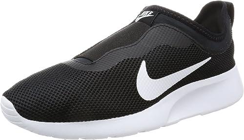 Nike WMNS Tanjun Slip, Baskets Enfiler Femme, (NoirBlanc
