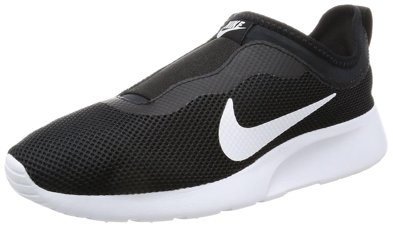 Nike WMNS Tanjun Slip, Chaussures de Running Compétition Femme, Noir (Schwarz/Weiß), 38.5 EU