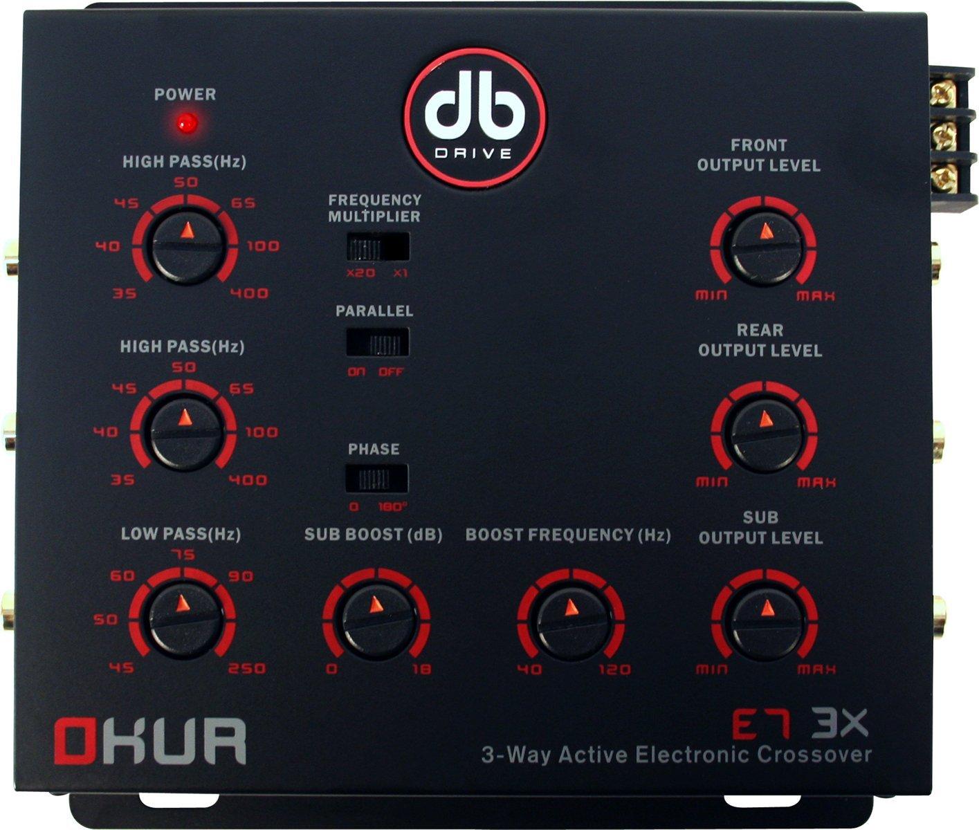 DB Drive E7 3X Crossover