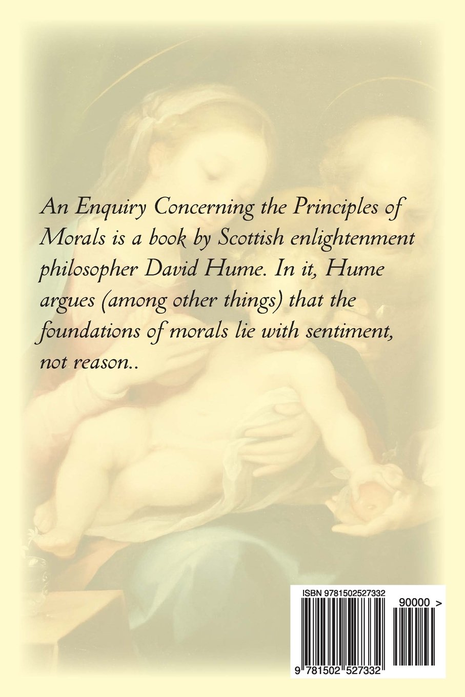 an enquiry concerning the principles of morals david hume an enquiry concerning the principles of morals david hume 9781502527332 com books