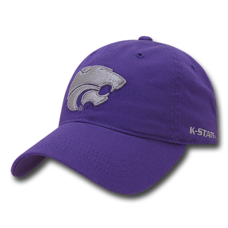 45f8c2058b7 University of Kansas State K-State Wildcats Cotton Polo Style Baseball Ball  Cap Hat at Amazon Men s Clothing store