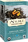 Numi Organic Tea--Aged Earl Grey--(Pack of 3) 18 Count Box of Tea Bags Black Tea Non-GMO Biodegradable Bags-- Premium Bagged Tea