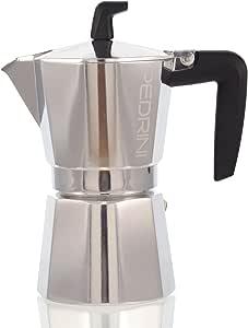 Pedrini Sei Moka - Cafetera italiana de 2 tazas (incluye filtro y ...