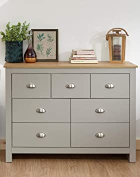 Lancaster Grey Or Cream Bedroom Sets 3 Or 4 Piece Wardrobe Chest