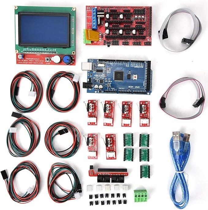 Impresora 3D Kit CNC con CNC Guard + A4988 Controlador de motor ...